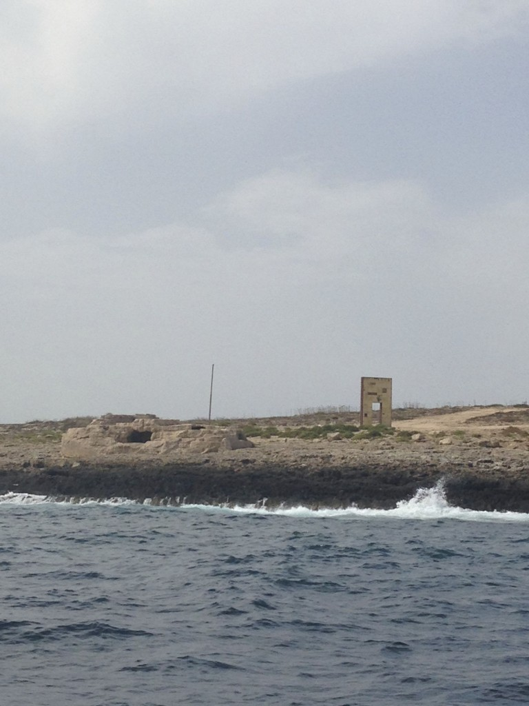 Mimmo Paladino (b 1948, Italy), Porta di Lampedusa - Porta d'Europa (2008).